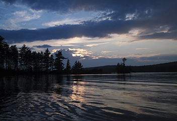 Moosehead Lake - by Linda J. Bortis